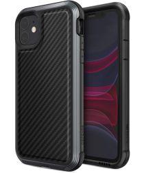 Raptic Lux Apple iPhone 11 Hoesje Carbon Fiber Zwart