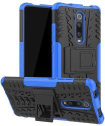 Xiaomi Mi 9T Robuust Hybride Hoesje Blauw