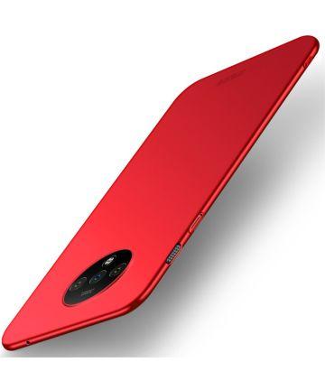 OnePlus 7T MOFI Shield Hoesje Rood Hoesjes