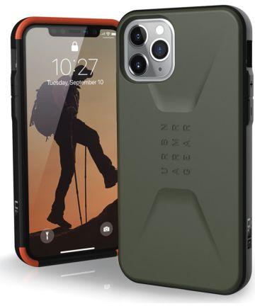 Urban Armor Gear Civilian Series Apple iPhone 11 Pro Hoesje Groen Hoesjes