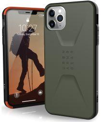 Urban Armor Gear Civilian Series Apple iPhone 11 Pro Max Hoesje Groen