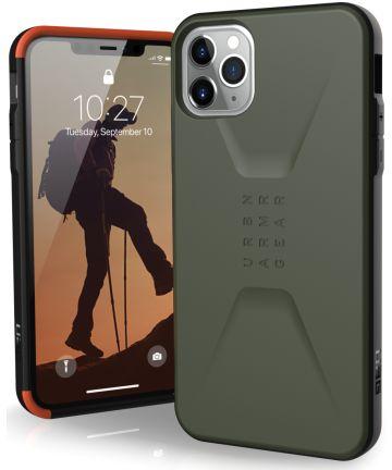 Urban Armor Gear Civilian Series Apple iPhone 11 Pro Max Hoesje Groen Hoesjes