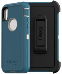 Otterbox Defender Apple IPhone XS / X Hoesje Blauw