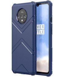 OnePlus 7T Armor Defence Hoesje Blauw