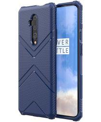 OnePlus 7T Pro Armor Defence Hoesje Blauw