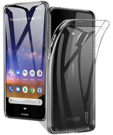 Nokia 2.2 Hoesje Dun TPU Transparant Hoesjes