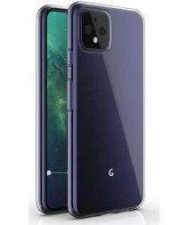 Google Pixel 4 Hoesje Dun TPU Transparant
