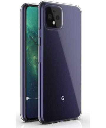Google Pixel 4 Hoesje Dun TPU Transparant Hoesjes