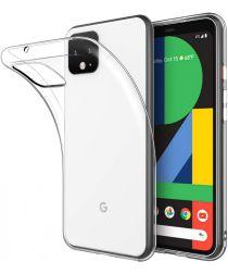 Google Pixel 4 XL Hoesje Dun TPU Transparant