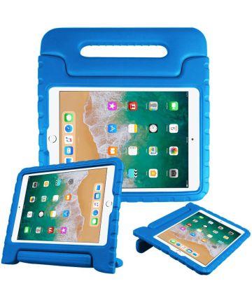 Apple iPad (2019) Kinder Tablethoes met Handvat Blauw Hoesjes
