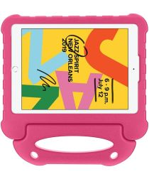 Apple iPad 10.2 2019 / 2020 Kinder Tablethoes met Handvat Roze