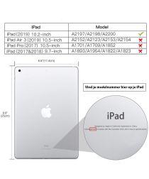 Apple iPad (2019) Kinder Tablethoes met Handvat Paars