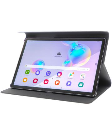4smarts DailyBiz Book Case Samsung Galaxy Tab S6 Zwart Hoesjes