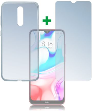 4smarts 360° Protection Cover Xiaomi Redmi 8 Transparant Hoesjes