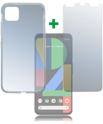 4smarts 360° Protection Limited Cover Google Pixel 4 Transparant Hoesjes