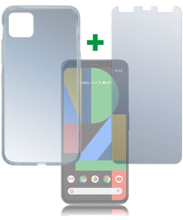 4smarts 360° Protection Limited Cover Google Pixel 4 XL Transparant Hoesjes