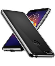 Motorola Moto E6 Play Hoesje Dun TPU Transparant