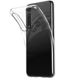 Motorola Moto G8 Plus Hoesje Dun TPU Transparant