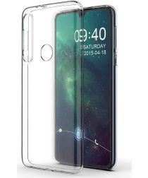 Motorola One Macro Hoesje Dun TPU Transparant