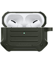 Spigen Tough Armor Apple AirPods Pro Hoesje Groen