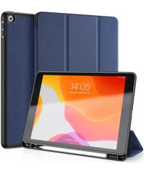 Dux Ducis Apple iPad 10.2 2019 / 2020 / 2021 Tri-fold Hoes Blauw