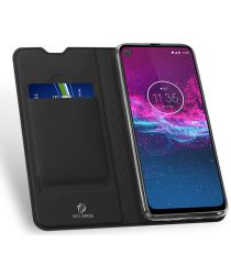 Dux Ducis Skin Pro Series Motorola One Action Bookcase Zwart