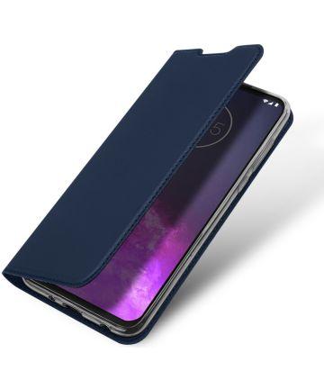 Dux Ducis Skin Pro Series Motorola One Zoom Flip Hoesje Blauw Hoesjes