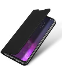 Dux Ducis Skin Pro Series Motorola One Zoom Flip Hoesje Zwart