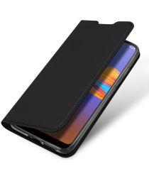 Dux Ducis Skin Pro Series Motorola Moto E6 Plus Flip Hoesje Zwart