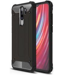 Xiaomi Redmi Note 8 Pro Armor Guard Hybrid Case Zwart