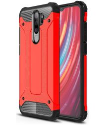 Xiaomi Redmi Note 8 Pro Armor Guard Hybrid Case Rood