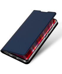 Dux Ducis Xiaomi Redmi Note 8 Pro Bookcase Hoesje Blauw