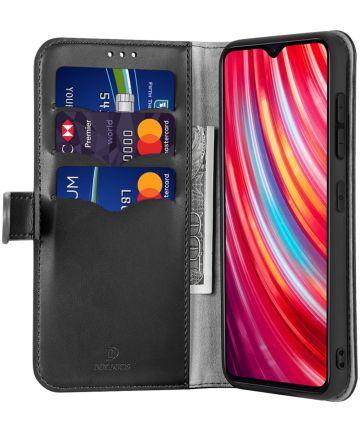 Dux Ducis Kado Series Xiaomi Redmi Note 8 Pro Portemonnee Hoesje Zwart Hoesjes
