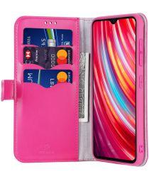 Dux Ducis Kado Series Xiaomi Redmi Note 8 Pro Portemonnee Hoesje Roze