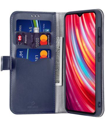 Dux Ducis Kado Series Xiaomi Redmi Note 8 Pro Portemonnee Hoesje Blauw Hoesjes