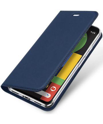 Dux Ducis Skin Pro Series Google Pixel 4 XL Flip Hoesje Blauw Hoesjes