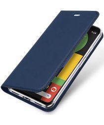 Dux Ducis Skin Pro Series Google Pixel 4 Flip Hoesje Blauw