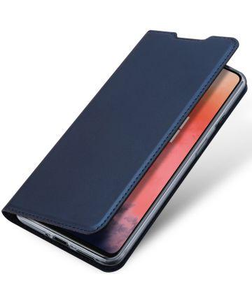 Dux Ducis Skin Pro Series OnePlus 7T Flip Hoesje Blauw Hoesjes