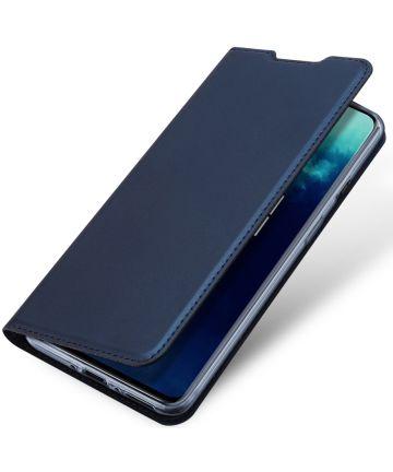 Dux Ducis Skin Pro Book Case OnePlus 7T Pro Hoesje Blauw Hoesjes