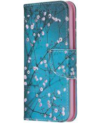 Nokia 2.2 Portemonnee Hoesje met Bloeiende Boom Print
