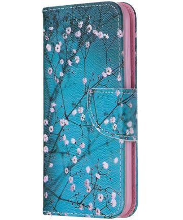 Nokia 2.2 Portemonnee Hoesje met Bloeiende Boom Print Hoesjes