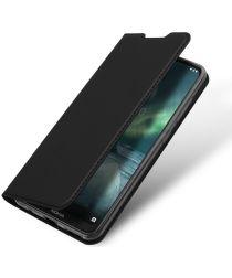 Dux Ducis Premium Book Case Nokia 6.2 / 7.2 Hoesje Zwart