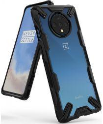 Ringke Fusion X OnePlus 7T Hoesje Transparant / Zwart