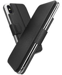 Defense Folio Air Apple iPhone XS / X Hoesje Book Case Zwart
