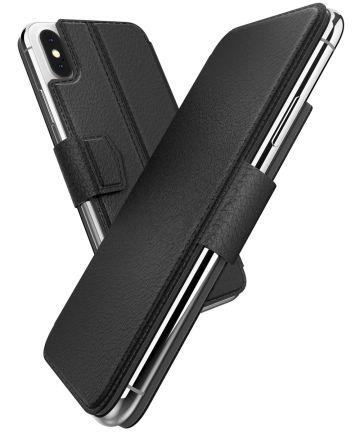 Raptic folio Air Apple iPhone XS/X hoesje book case zwart Hoesjes