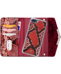 Mobilize Velvet Clutch Apple iPhone 8 / 7 / 6 Plus Hoesje Red Snake
