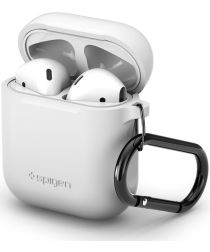 Spigen Silicone Fit Apple AirPods Hoesje Wit