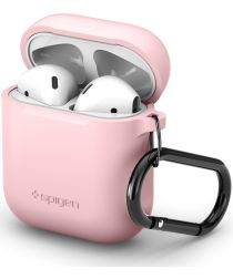 Spigen Silicone Fit Apple AirPods Hoesje Roze