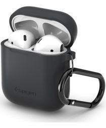 Spigen Silicone Fit Apple AirPods Hoesje Grijs