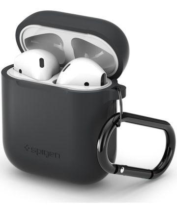Spigen Silicone Fit Apple AirPods Hoesje Grijs Hoesjes